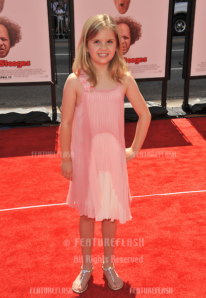 "Kyla Kenedy at the world premiere of ""The Three Stooges"" at Grauman's Chinese Theatre, Hollywood..April 7, 2012  Los Angeles, CA.Picture: Paul Smith / Featureflash"