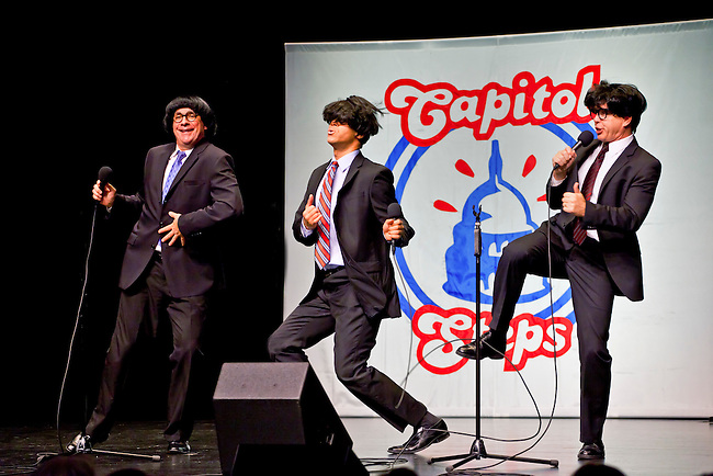 The comedy group CAPITOL STEPS preforms at the SUNSET CENTER - CARMEL, CALIFORNIA