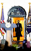 United States President Barack Obama arrives to deliver remarks at the second White House Astronomy Night with students, teachers, scientists, astronauts and others attending the event in the South Lawn of the White House in Washington, DC on October 19, 2015. <br /> Credit: Aude Guerrucci / Pool via CNP