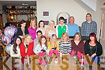 BIRTHDAY GIRL: Rachel O'Sullivan, Castleisland (seated centre) had a fab time in Bella Bia, Tralee last Saturday evening celebrating her 18th birthday with family and friends, seated l-r: Jody Coffey, Carrie Lonergan, Paul, Ciara, Rachel and Audrey O'Sullivan, Maeve Jones and Rhona O'Mahony. Back l-r: Jacinta Hickey, Maria Curtin, Orla Griffin, Jessica Ryle, Mike O'Sullivan, Vince O'Mahony and Diarmuid Jones.