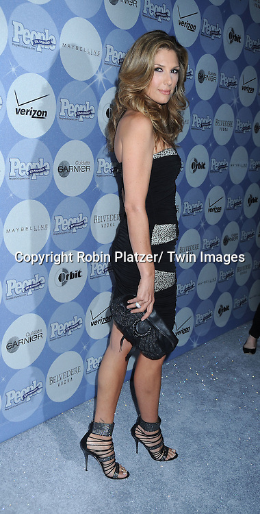 "Daisy Fuentes in posing for photographers at the 14th Annual People En Espanol's ""50 Most Beautiful"" issue on May 20, 2010 at .Guastavino's in New York City."