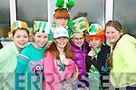 Pictured are Scoil Eoin Balloonagh pupils at their St. Patricks Parade on Friday, from left: Marian Knightly, Rachel ORegan, Isabelle Baily, Heidi Crean, Melanie Daly, Saibh Norris and Britney Faulkner..