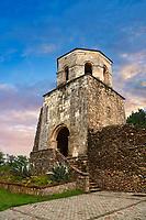 Picture & image of the medieval Khobi Monastery Gate House & bell Tower, 10th -11th century, Khobi, Georgia.