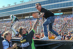 Richard Rawlings from Discovery Channel's hit TV series, Fast and Loud,  in action during the Monster Energy NASCAR Cup Series, AAA Texas 500, race at the Texas Motor Speedway in Fort Worth,Texas.