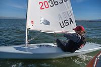 Stanford, Ca - October 30, 2018: Stanford Sailing 2018