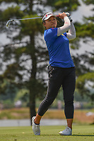 Wichanee Meechai (THA) watches her tee shot on 3 during round 3 of the 2018 KPMG Women's PGA Championship, Kemper Lakes Golf Club, at Kildeer, Illinois, USA. 6/30/2018.<br /> Picture: Golffile | Ken Murray<br /> <br /> All photo usage must carry mandatory copyright credit (&copy; Golffile | Ken Murray)