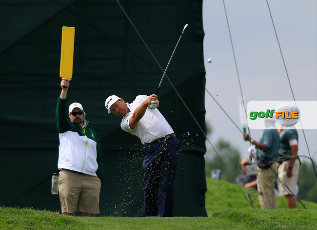 Graeme McDowell (NIR) tees off the 6th tee during Friday's Round 1 of the 2016 U.S. Open Championship held at Oakmont Country Club, Oakmont, Pittsburgh, Pennsylvania, United States of America. 17th June 2016.<br /> Picture: Eoin Clarke | Golffile<br /> <br /> <br /> All photos usage must carry mandatory copyright credit (&copy; Golffile | Eoin Clarke)