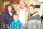 Pictured at the Kerry Homes and Business Expo held in the Killarney Oyutlet Centre last weekend were Josephine, David, Darren, Paul and Brian Murphy, Ballylongford. ......