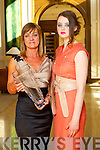 Karyn Moriarty and Aoife Healy at Kerry Fashion Weekend at the Brehon Hotel Killarney on Sunday