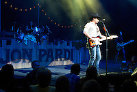 Jon Pardi opens for Alan Jackson on the 25th Anniversary Tour at Verizon Theatre on Friday Night.(Special to the Star-Telegram/Rachel Parker)