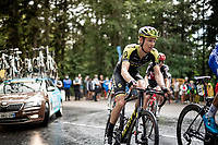 Jack Haig (AUS/Mitchelton-Scott) up the Col de Porte (final climb to the finish)<br /> <br /> Stage 2: Vienne to Col de Porte (135km)<br /> 72st Critérium du Dauphiné 2020 (2.UWT)<br /> <br /> ©kramon