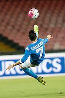 Jose Callejon   durante l'incontro di calcio di Serie A   Napoli -Sampdoria allo  Stadio San Paolo  di Napoli , 30 Agosto 2015