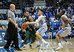 January 20, 2016 - Colorado Springs, Colorado, U.S. -  Colorado State guard, John Gillon #4, works to keep control of the ball against Air Force forward, Hayden Graham #35, during an NCAA basketball game between the Colorado State University Rams and the Air Force Academy Falcons at Clune Arena, United States Air Force Academy, Colorado Springs, Colorado.  Colorado State defeats Air Force 83-79.