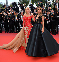 Hofit Golan &amp; Victoria Bonya at the gala screening for &quot;Solo: A Star Wars Story&quot; at the 71st Festival de Cannes, Cannes, France 15 May 2018<br /> Picture: Paul Smith/Featureflash/SilverHub 0208 004 5359 sales@silverhubmedia.com