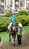 Love and Pride before The Delaware Handicap (gr 2) at Delaware Park on 7/21/12