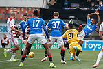 24.11.2019: Hamilton v Rangers: Jermain Defoe tries an overhead kick