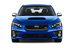 Car photography straight front view of a 2017 Subaru WRX STI Sport Premium 4 Door Sedan