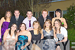 GOODNIGHT: Out to have a good time at the ITT Tralee Sports Awards Night at the Earl of Desmond Hotel, Tralee on Thursday night. Front l-r: Sarah Murphy, Mary O'Sullivan, Laura Whelan, Ann Marie Prendergast and Helen Burke. Back l-r: Stephanie Fennelly, Kevin Troyu, Padraig Murphy, Christopher Singheton and Sinead Kelly..