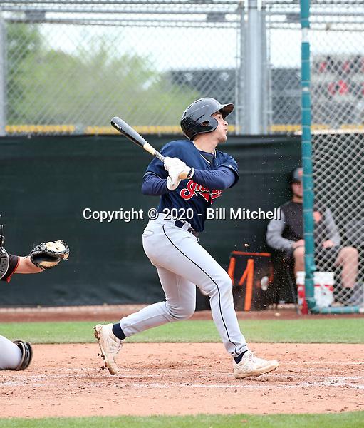Jesse Berardi - Cleveland Indians 2020 spring training (Bill Mitchell)