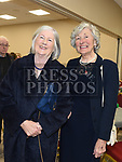 Bernadette McGrane and Eileen Kelly at the official opening of the new Associated Bridge Clubs of Drogheda (ABCD) headquaters on the Fair Green. Photo:Colin Bell/pressphotos.ie