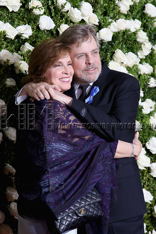 NEW YORK, NY - JUNE 11:  Mark Hamill (R) attends the 71st Annual Tony Awards at Radio City Music Hall on June 11, 2017 in New York City.  (Photo by Walter McBride/WireImage)