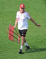 Fussball 1. Bundesliga:  Saison   2011/2012    Winter Trainingslager des FC Bayern Muenchen  03.01.2012 Trainer Jupp Heynckes