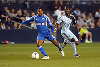 Patrice Bernier (8) midfield Montreal Impact..Sporting Kansas City defeated Montreal Impact 2-0 at Sporting Park, Kansas City, Kansas.