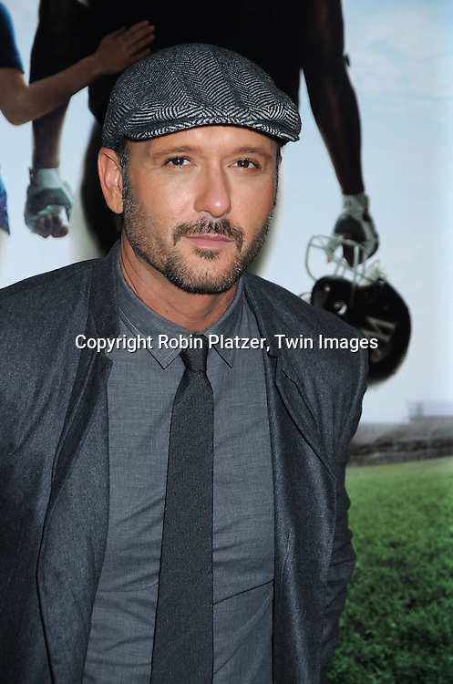 Tim McGraw, who stars in the movie