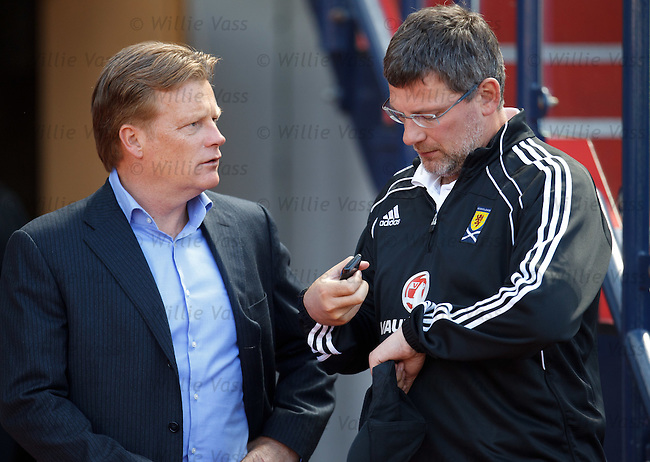 Mark Wotte and Craig Levein