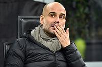 6th November 2019, Milan, Italy; UEFA Champions League football, Atalanta versus Manchester City; Josep Guardiola coach of Manchester City