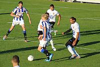 VOETBAL: AKKRUM: 11-07-2014, Oefenduel SC Heerenveen - Telstar, de Noor Morten Thorsby aan de bal, ©foto Martin de Jong
