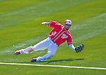 28 February 2016: Washington Nationals outfielder Ben Revere in action during an inter-squad pre-season Spring Training game at Space Coast Stadium in Viera, Florida. Mandatory Credit: Ed Wolfstein Photo *** RAW (NEF) Image File Available ***