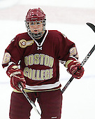 Jessica Martino (BC - 26) - The Boston College Eagles defeated the Harvard University Crimson 4-2 in the 2012 Beanpot consolation game on Tuesday, February 7, 2012, at Walter Brown Arena in Boston, Massachusetts.
