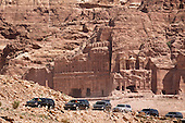 President Barack Obama's motorcade departs the ancient city of Petra in Jordan, March 23, 2013. .Mandatory Credit: Chuck Kennedy - White House via CNP
