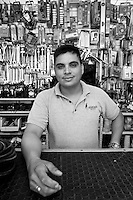 Edgar Arturo Fernandez Chacon. Hardware store owners in Culiacan, Sinaloa,  Mexico