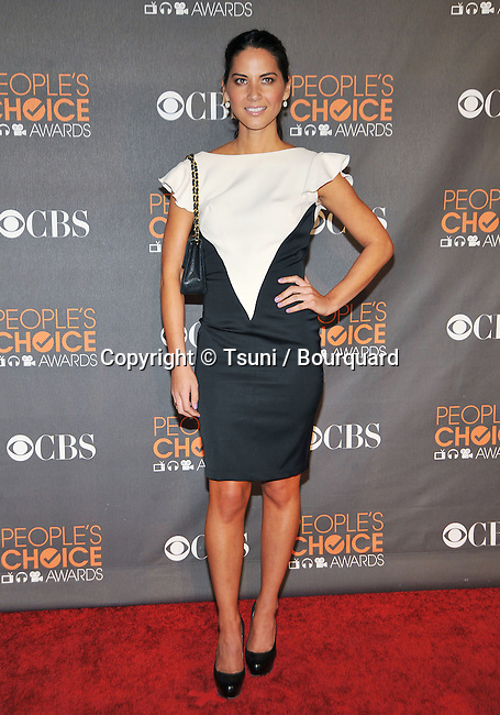 Olivia Munn _119  -<br /> People&rsquo;s Choice Awards 2010 at the Nokia Theatre In Los Angeles.