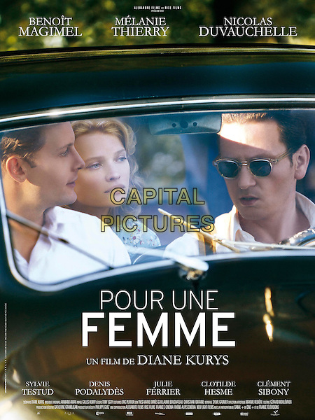 ORIGINAL FRENCH POSTER ART<br /> in For a Woman (2013) <br /> (Pour une femme)<br /> *Filmstill - Editorial Use Only*<br /> CAP/FB<br /> Image supplied by Capital Pictures