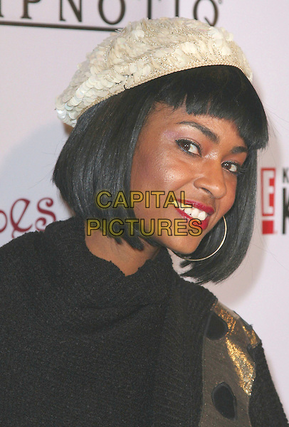 "LADY TIGRA.""Keeping Up with the Kardashians"" E's Official Season 2 Launch Party held at Les Deux Nightclub, Hollywood, California, USA, 19 March 2008..portrait headshot hat.CAP/ADM/`CH.©Charles Harris/Admedia/Capital PIctures"
