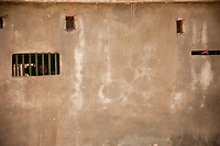 Prisoners in Mandhera  maximum security prison Manhera, Somaliland.