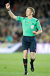 Spanish referee Alejandro Jose Hernandez Hernandez during La Liga match. April 2,2016. (ALTERPHOTOS/Acero)