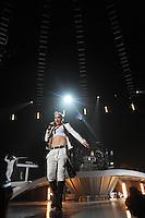 Singer Gwen Stefani of No Doubt performs at the Air Canada Centre, June 16, 2009, in Toronto, Canada. (Arthur Mola/pressphotointl.com)
