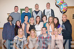 1384-1388.29 AGAIN: Danielle Harcksen, Castlecountess, Tralee (seated 2nd left) had a ball at her 30th birthday celebration last Saturday night in the Kerins O'Rahilly's GAA clubhouse, Strand Road, Tralee also seated l-r: Barbara and Danielle Harcksen, Liam O'Dowd and Alida Harcksen. 2nd l-r: Iskander Vanspengen, Emma Young, Sinead Walsh, Grainne Harcksen, Theresa Scutchings, Clair Kelliher, Bridget Concagh, Niamh Quirke and Dan Hobbs. Back l-r: Mark Flood, Garven, Stephan and Ross O'Callaghan.