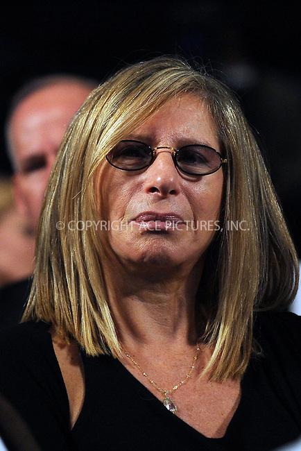 WWW.ACEPIXS.COM . . . . . ....September 23 2009, New York City....Actress Barbra Streisand at the Clinton Global Initiative on September 23 2009 in New York City....Please byline: KRISTIN CALLAHAN - ACEPIXS.COM.. . . . . . ..Ace Pictures, Inc:  ..tel: (212) 243 8787 or (646) 769 0430..e-mail: info@acepixs.com..web: http://www.acepixs.com