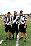 Redondo Beach, CA 05/14/11 -  The officiating crew for the US Lacrosse CIF Southern Section Championship game.