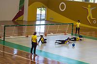SÃO PAULO,SP, 22.03.2017 - PARAPAN-JUVENTUDE -  Goalball Fem - Brasil vence Mexico no CT Paralímpico Brasileiro, no Parapan da Juventude em São Paulo nesta quarta-feira, 22.(Foto: Danilo Fernandes/Brazil Photo Press)