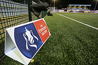 General view of the Coles Park prior to Kick off during Haringey Borough vs AFC Wimbledon, Emirates FA Cup Football at Coles Park Stadium on 9th November 2018