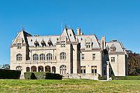 Ochre Court on the grounds of Salve Regina University, Cliff Walk, Newport, Rhode Island, RI