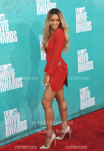 Ciara at the 2012 MTV Movie Awards at Universal Studios, Hollywood..June 4, 2012  Los Angeles, CA.Picture: Paul Smith / Featureflash