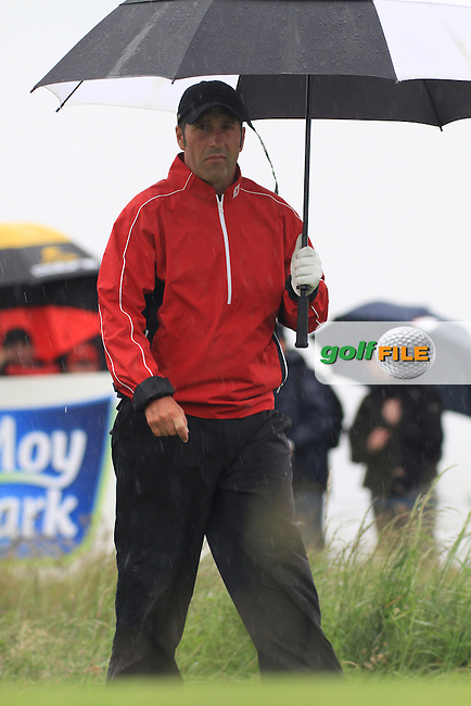 Jose Maria Olazabal (ESP) on the 11th during round 1 of the Irish Open at Royal Portrush GC,Portrush,County Antrim,Ireland. 27/6/12.Picture Fran Caffrey www.newsfile.ie