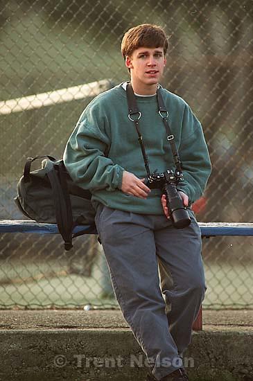 Greg Darusmont with camera<br />
